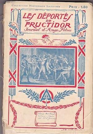 Les Déportés de Fructidor. Journal d Ange Pitou: SAVINE, Albert