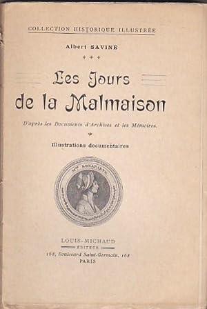 Les jours de la Malmaison: SAVINE, Albert