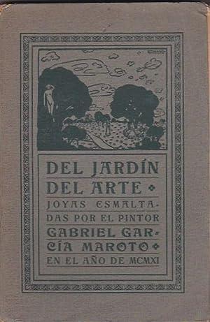 Del jardín del arte. Joyas esmaltadas por el pintor Gabriel García Maroto en el a&...