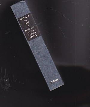 Poesía española contemporánea. Antología (1939-1964): LUIS, Leopoldo de...