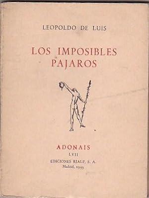 Los imposibles pájaros: LUIS, Leopoldo de