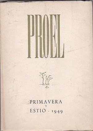 Revista de poesía y prosa. 2ª Época. Nº 5: REVISTA PROEL