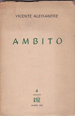 Ambito 1924 - 1927: ALEIXANDRE, Vicente