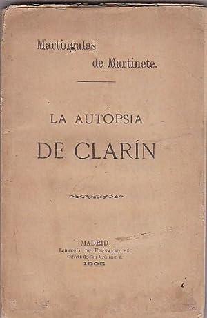 La autopsia de Clarín: MARTINETE, Martingalas de