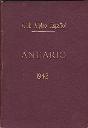 Anuario del Club Alpino Español. Año 1942