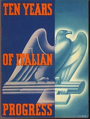 Ten Years of Italian Progress: Unknown