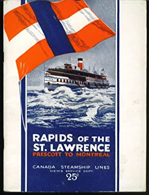 Rapids of the St. Lawrence Prescott to Montreal