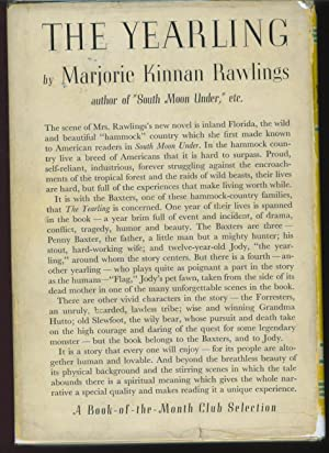 The Yearling: Rawlings, Marjorie Kinnan