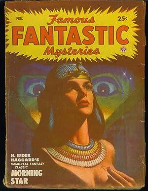 Famous Fantastic Mysteries February, 1950 Vol. 11, No. 3