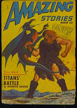 amazing Stories March 1947, Vol. 21, No. 3