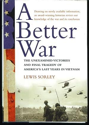 A Better War: Sorley, Lewis
