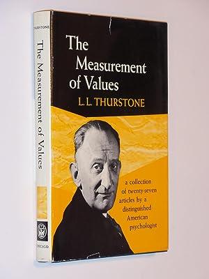 The Measurement of Values: Thurstone, L. L.