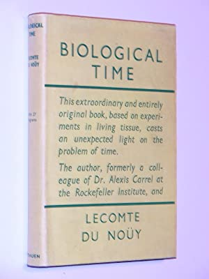 Biological Time: Du Nouy, Lecomte