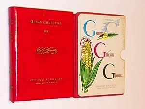 Obras Completas de Gregorio Gutierrez Gonzalez: Gonzalez, Gregorio Gutierrez; Compiladas por Rafael...