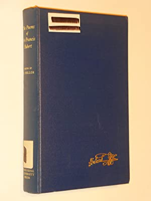 The Poems of Sir Francis Hubert: Hubert, Sir Francis; Edited with an Introduction, Commentaries, ...