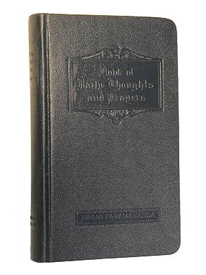 Book of Daily Thoughts and Prayers: Paramananda, Swami