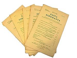 Saiva Siddhanta: Journal Devoted to the Exposition of Siddhanta Philosophy, Religion, Literature ...
