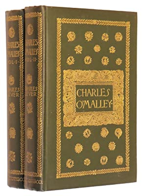 Charles O'Malley, The Irish Dragoon (Complete Two Volume Set): Lever, Charles; Edited by Harry...