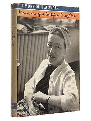 Memoirs of a Dutiful Daughter: De Beauvoir, Simone; Translated by James Kirkup
