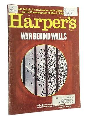 War Behind Walls (Harper's Magazine, February 1972): Bunker, Edward
