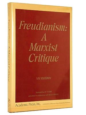 Freudianism: A Marxist Critique: Volosinov, V. N.; Translated by I. R. Titunik; Edited in ...