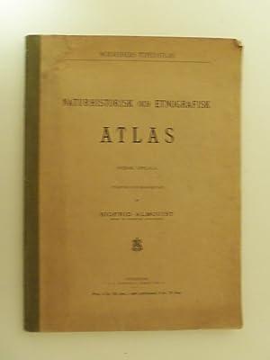 Naturhistorisk och etnografisk atlas. Svensk upplaga.: Almquist, Sigfrid