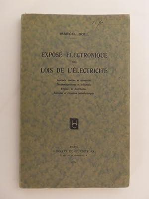 Exposé électronique des lois de l'électricité - Courants continus ...