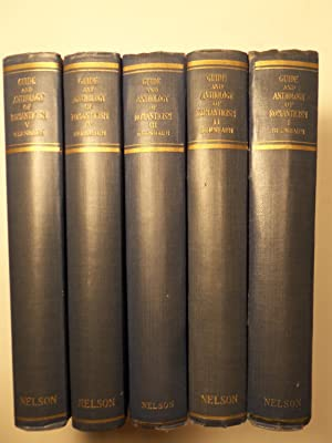 Anthology of Romanticism and Guide Through the Romantic Movement [Complete Five Volume Set]: ...