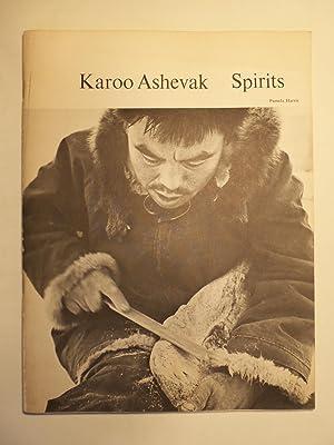 Karoo Ashevak: Spirits. Fifteen whalebone carvings: Ashevak, Karoo; Pamela Harris; Judy McGrath