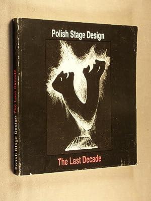 Polish stage design : the last decade: Agnieszka Koecher-Hensel; Barbara Osterloff (Editors)