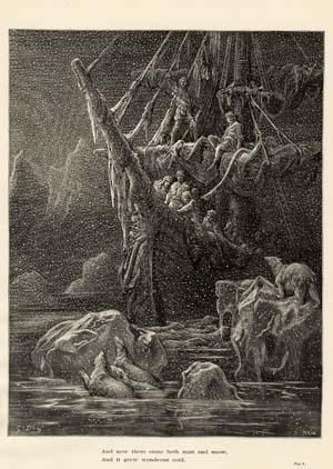 Image result for dore ancient mariner