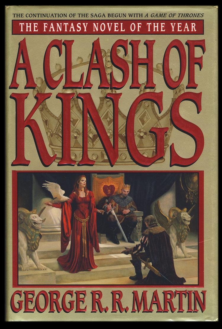 Myndaniðurstaða fyrir clash of kings book cover