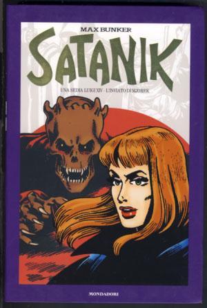 Satanik Volume 21 - Una sedia Luigi: Bunker, Max (Luciano