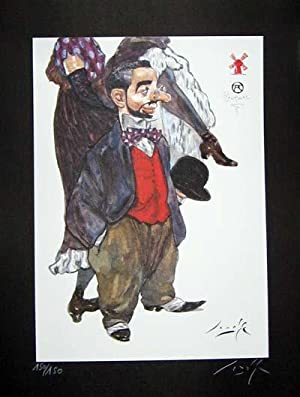 Limited Edition Signed and Numbered Print - #2 from Cabaret Lautrec