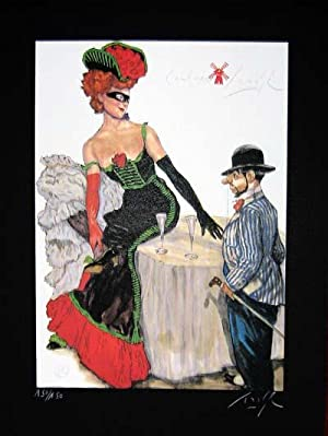 Limited Edition Signed and Numbered Print - #4 from Cabaret Lautrec
