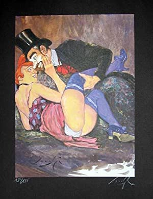 Limited Edition Signed and Numbered Print - #5 from Cabaret Lautrec
