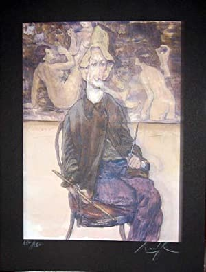 Limited Edition Signed and Numbered Print - #9 from Cabaret Lautrec