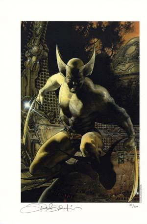 Wolverine Signed/Numbered Limited Edition Print
