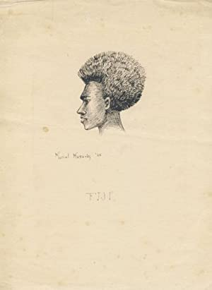 Original Drawing of a Native of the Fiji Islands