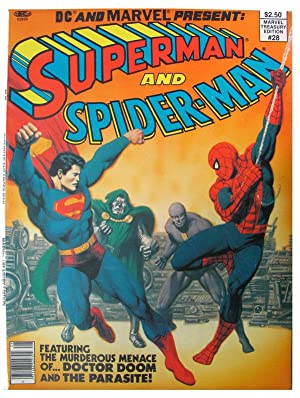 Marvel Treasury Edition #28. (Superman and Spider-Man.): Shooter, Jim; Buscema,