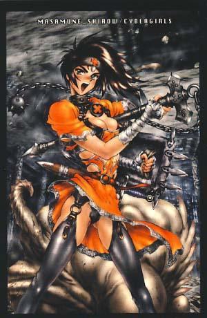 Cybergirls: A Masamune Shirow Portfolio: Shirow, Masamune