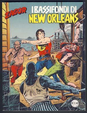 Zagor #525 - I bassifondi di New Orleans: Burattini, Moreno