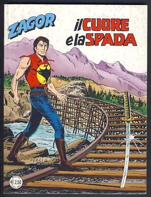 Zagor #537 - Il cuore e la: Burattini, Moreno