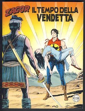 Zagor #538 - Il tempo della vendetta: Burattini, Moreno