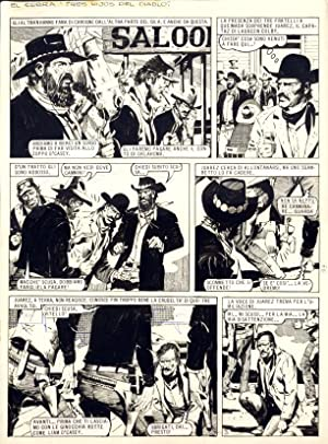 Original Comic Art for El Cobra: Tres Hijos del Diablo - Page 3. (Tavola originale per Il Cobra: ...