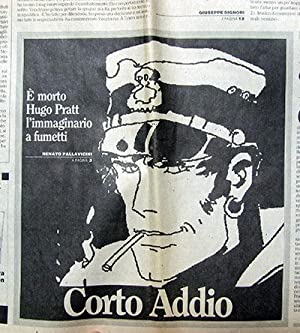 L'Unità 2, 21 Agosto 1995. (Long article commemorating the artist at the time of his death)