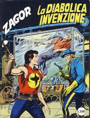 Zagor #390 - La diabolica invenzione: Burattini, Moreno