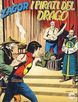 Zagor #402 - I pirati del drago: Burattini, Moreno