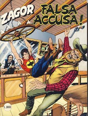 Zagor #424 - Falsa accusa!: Burattini, Moreno
