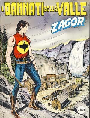 Zagor #457 - I dannati della valle: Burattini, Moreno